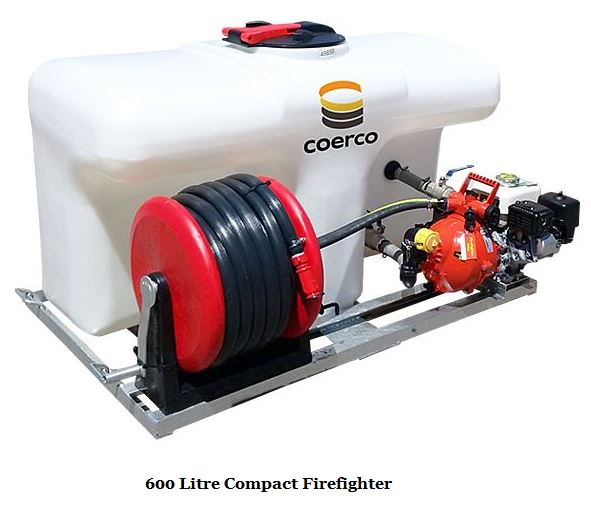 600 Litre Compact Firefighter