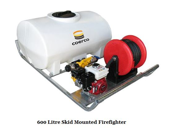 600 Litre Skid Mounted Firefighter-1